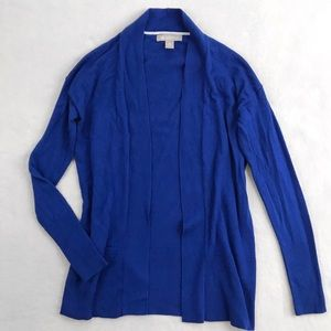 Banana Republic Open-Front Cardigan Sweater - Blue